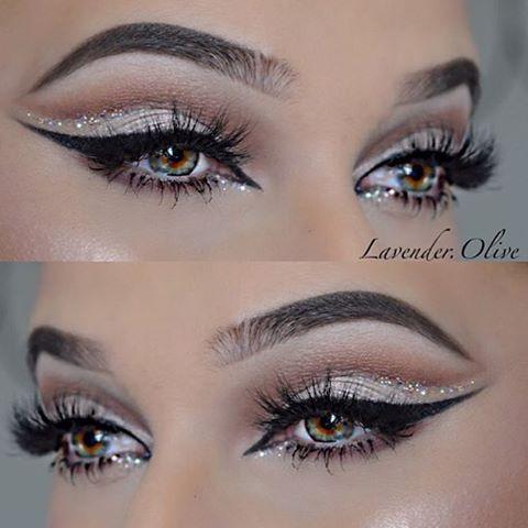 Свадьба - Glittery Makeup