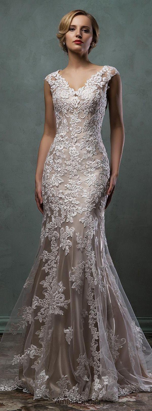 زفاف - The Best Bridal Wedding Dresses Ideas & Details For 2017