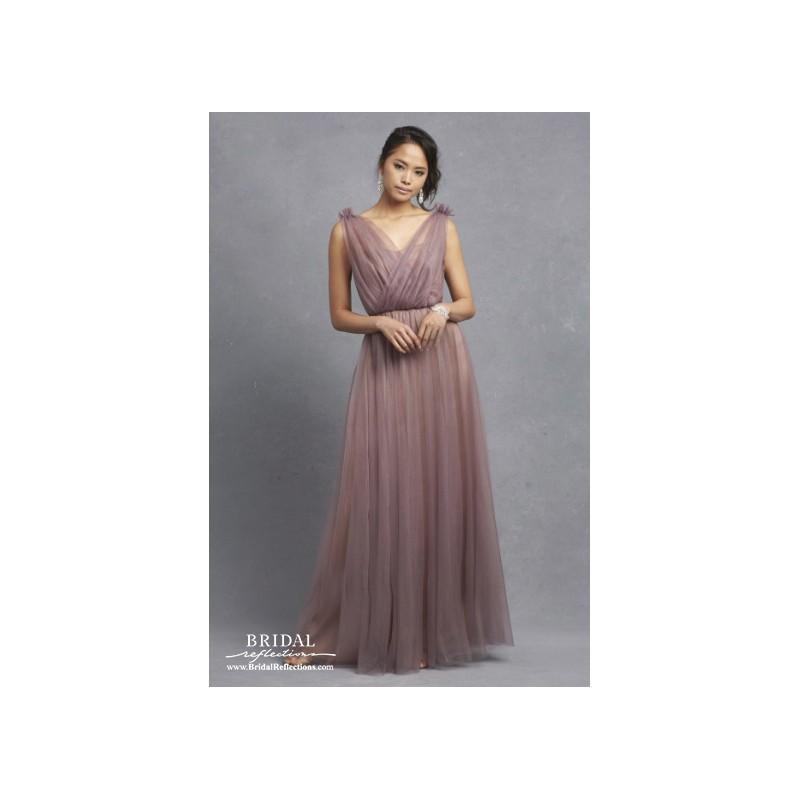 Donna Morgan Emmy - Burgundy Evening Dresses #2640159 - Weddbook