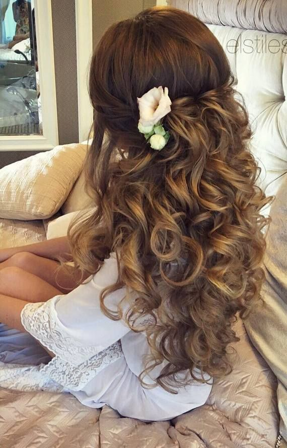 Gallery: Elstile Wedding Hairstyles For Long Hair 42 #2640345 - Weddbook