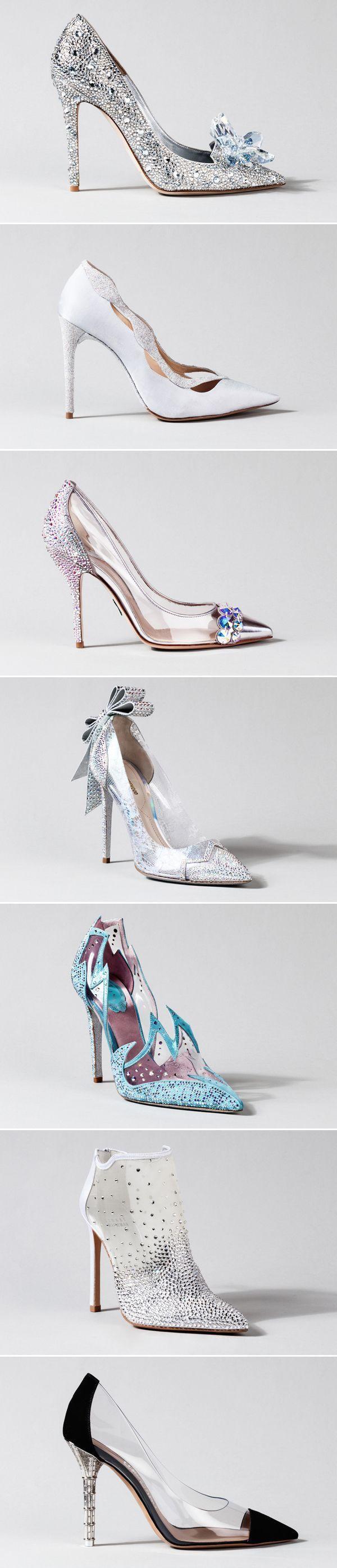 Mariage - 15 Stunning Cinderella-Inspired Wedding Shoes