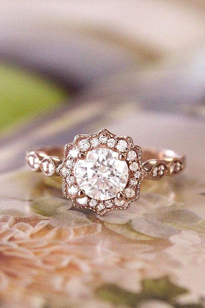 Mariage - 24 Dazzling Diamond Engagement Rings Of Her Dreams
