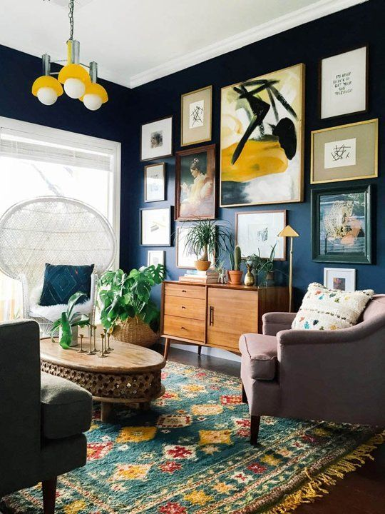 Wedding - 9 Dark, Rich & Vibrant Rooms That Will Make You Rethink Everything You Know About Color