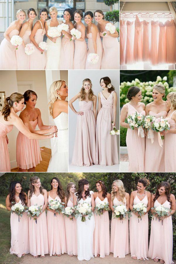 Wedding - Top 10 Colors For Spring/Summer Bridesmaid Dresses 2015