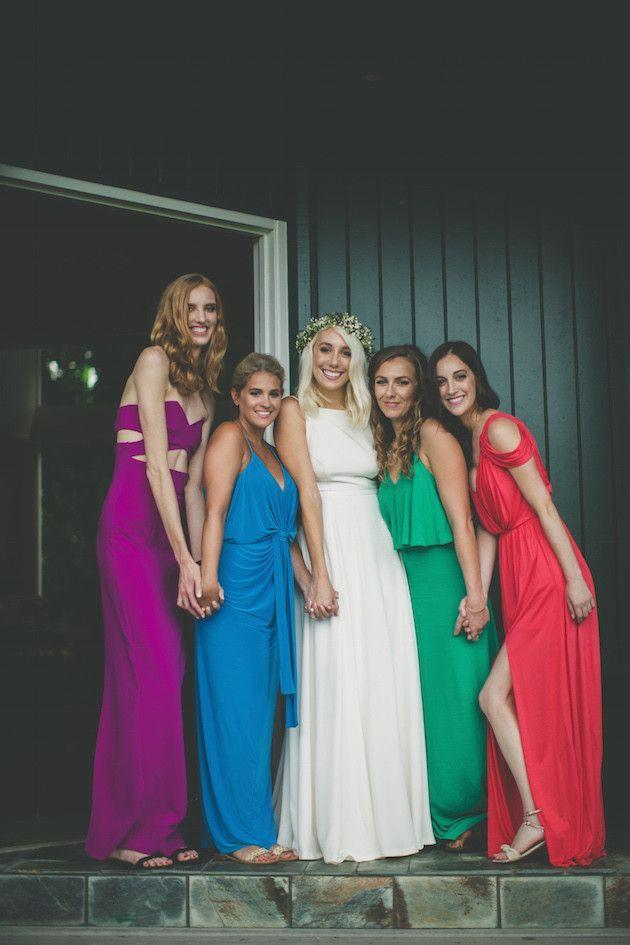 Wedding - Unique Or Uniform? How To Style Your Bridesmaids