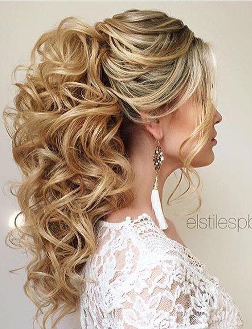 Свадьба - Gallery: Elstile Wedding Hairstyles For Long Hair 37