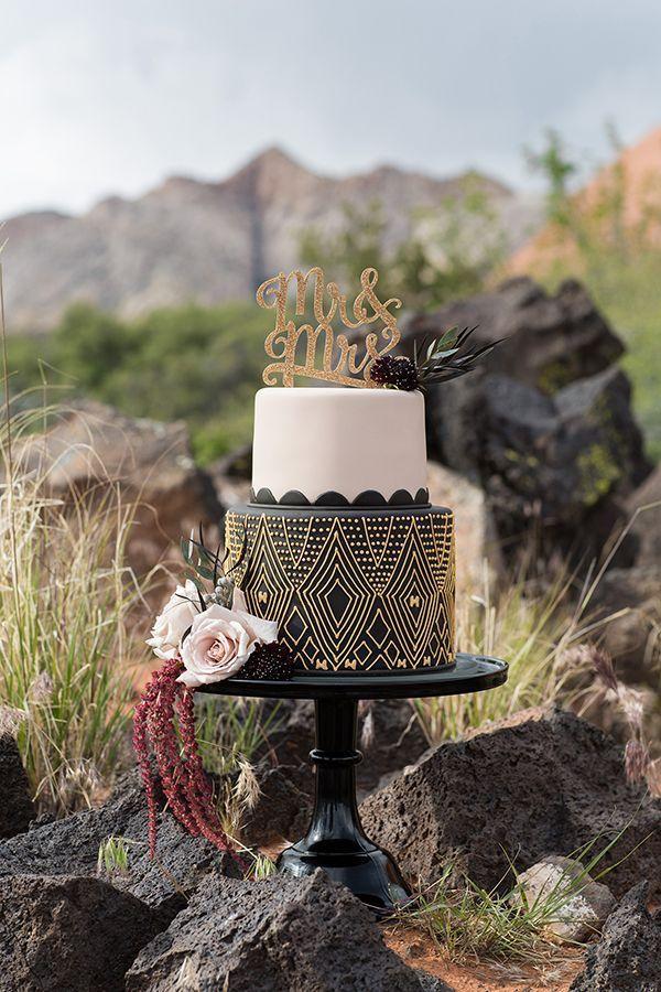 Mariage - Elegant African-Inspired Mountain Wedding