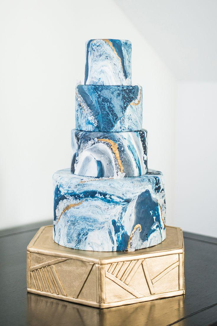 Mariage - Art Gallery Inspired Wedding Shoot With Agate
