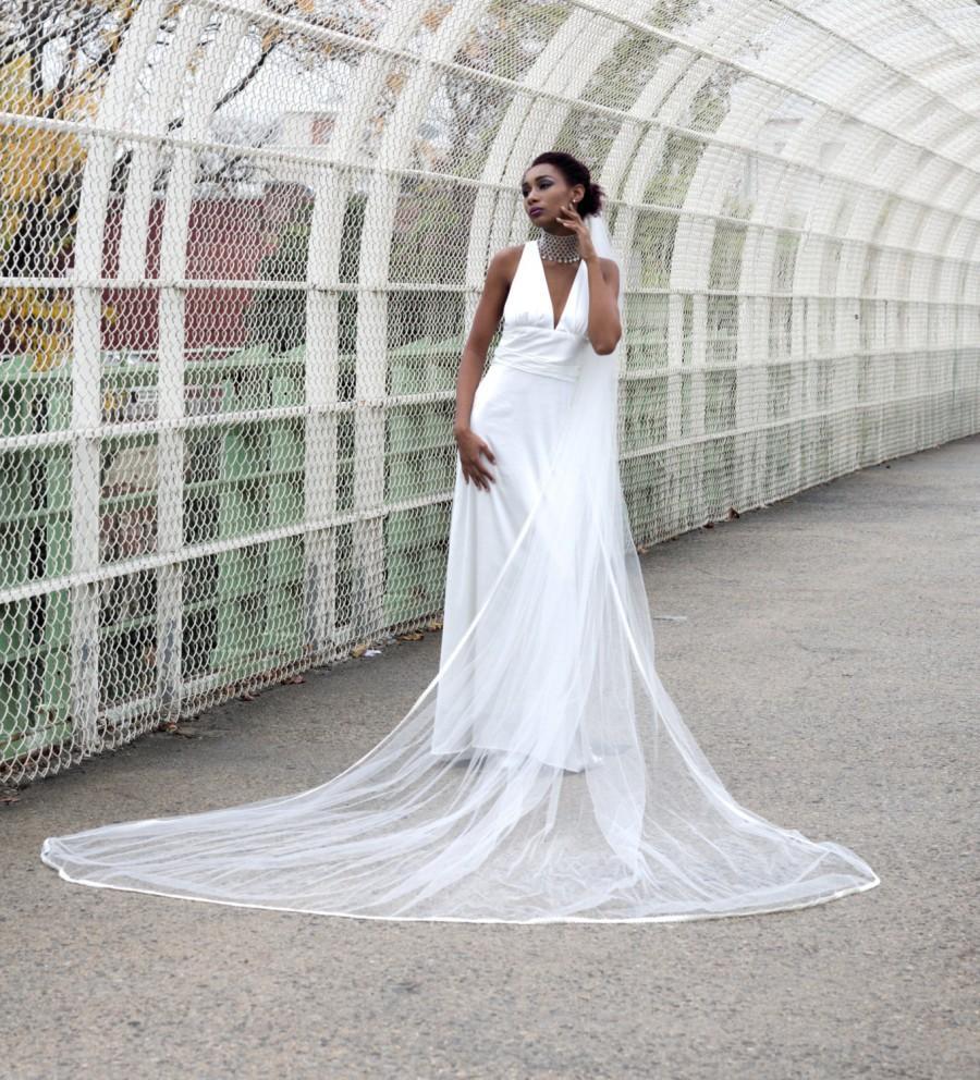 Свадьба - Beautiful Lace Wedding Veil, Cathedral Wedding Veil, Chapel Wedding Veil, Royal Wedding Veil, Lace Wedding Veil