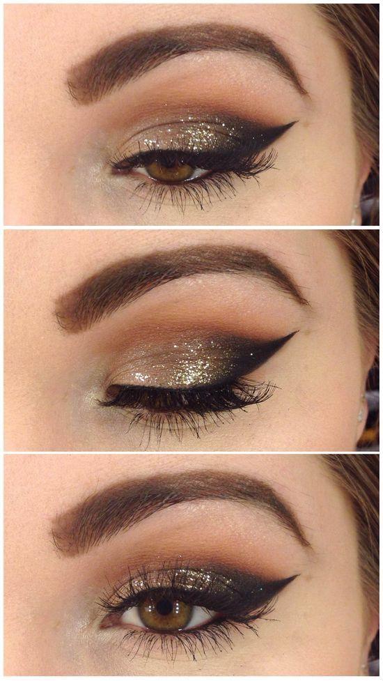 Свадьба - Glittery Eyes