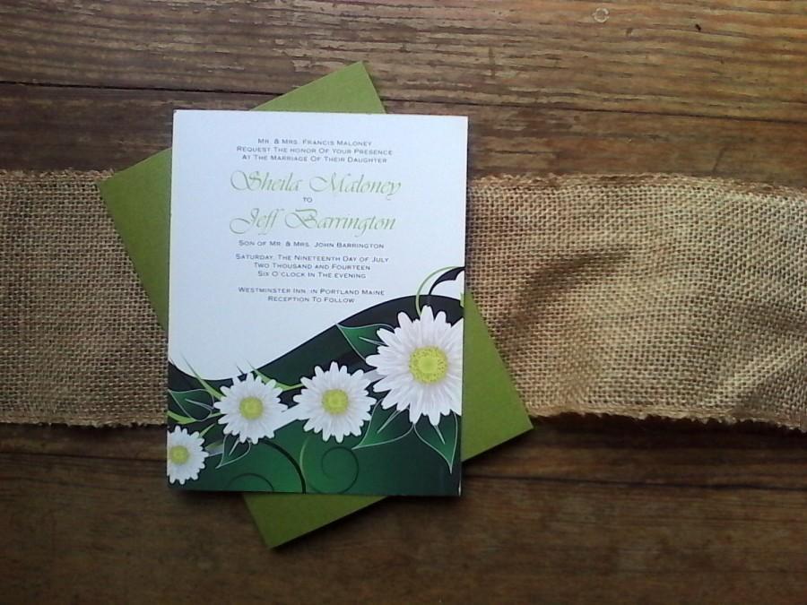 زفاف - Summer Wedding Invitation