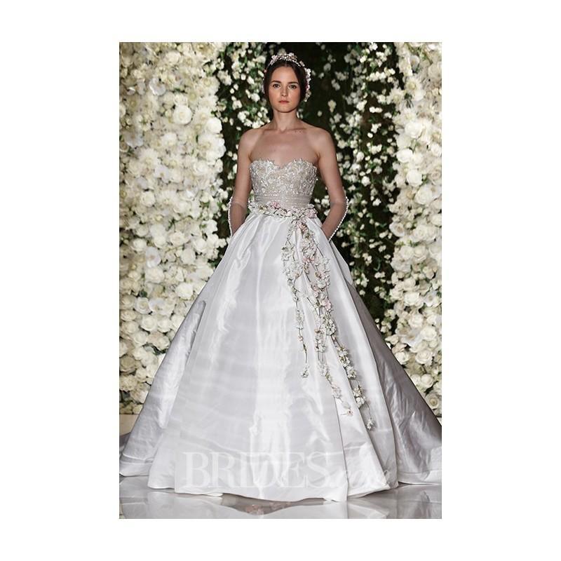 Silk Taffeta Wedding Gowns: Strapless Silk Taffeta Ballgown