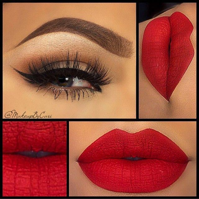 Свадьба - Valentine's Day Makeup Ideas: 22 Looks To Fall In Love With