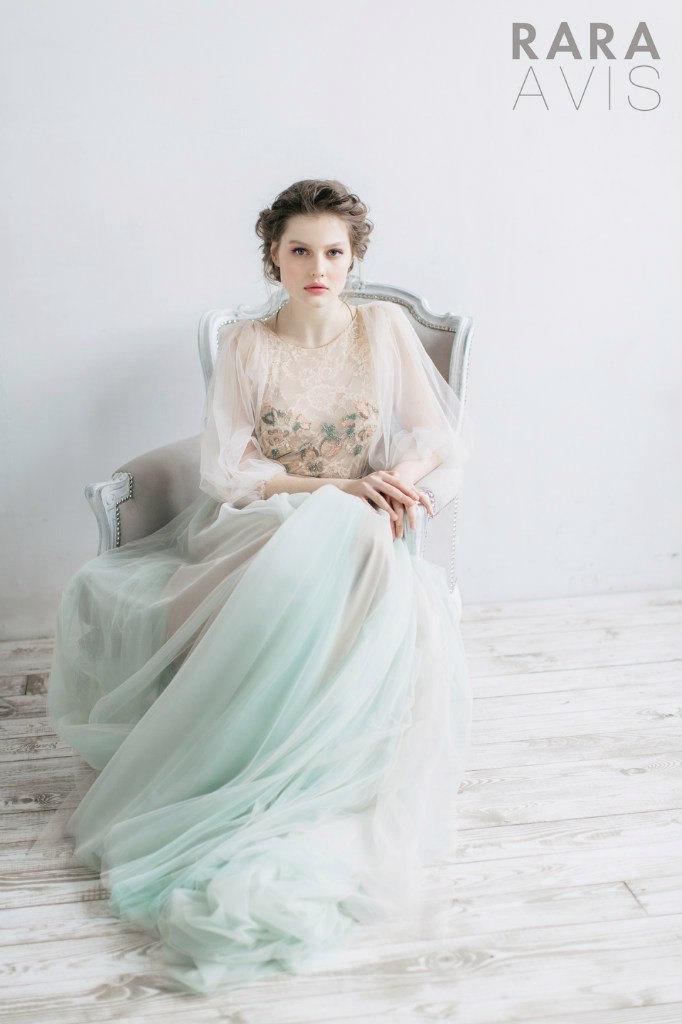 Mariage - Wedding dress Filippa, fairy wedding dress, vintage style wedding dresses, wedding gowns, bride dresses, beach wedding