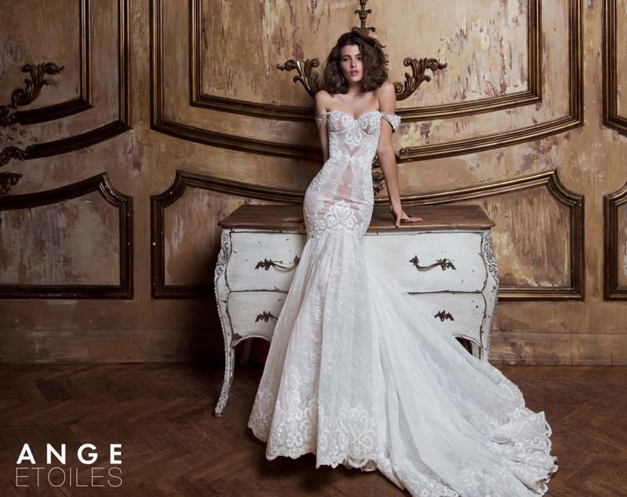 Wedding - Lace wedding dress, ZHIZEL, bridal dress, lace dress, sexy wedding dress