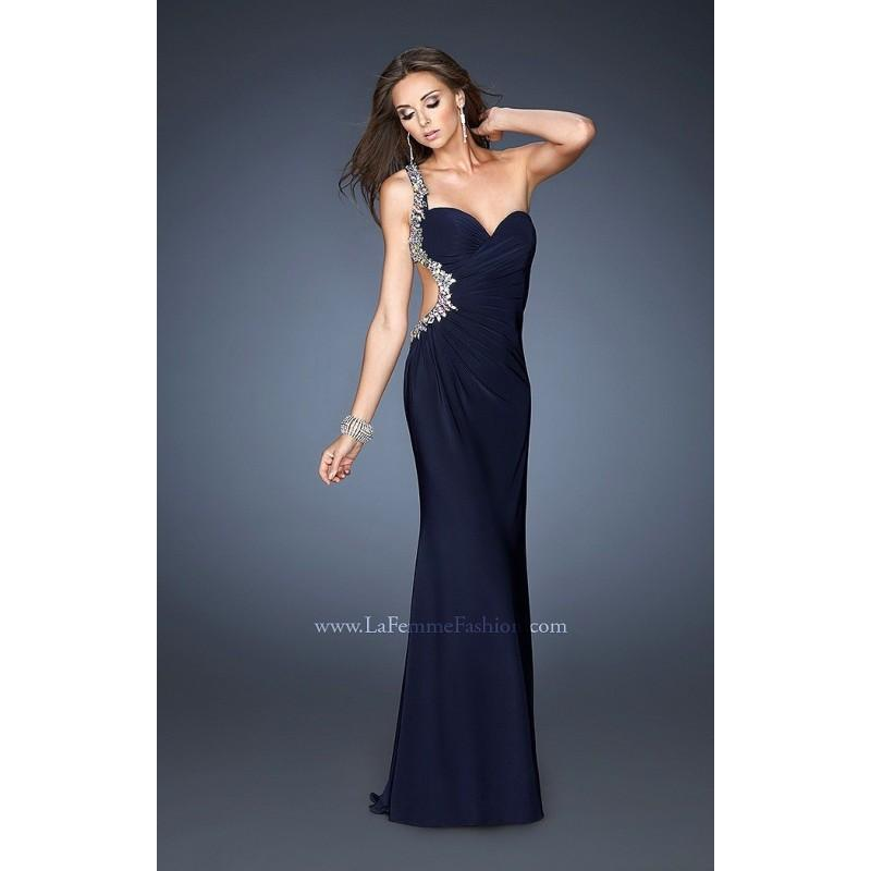 ea4ca06d9a Navy Gigi 18783 - Cut-outs Open Back Dress - Customize Your Prom Dress