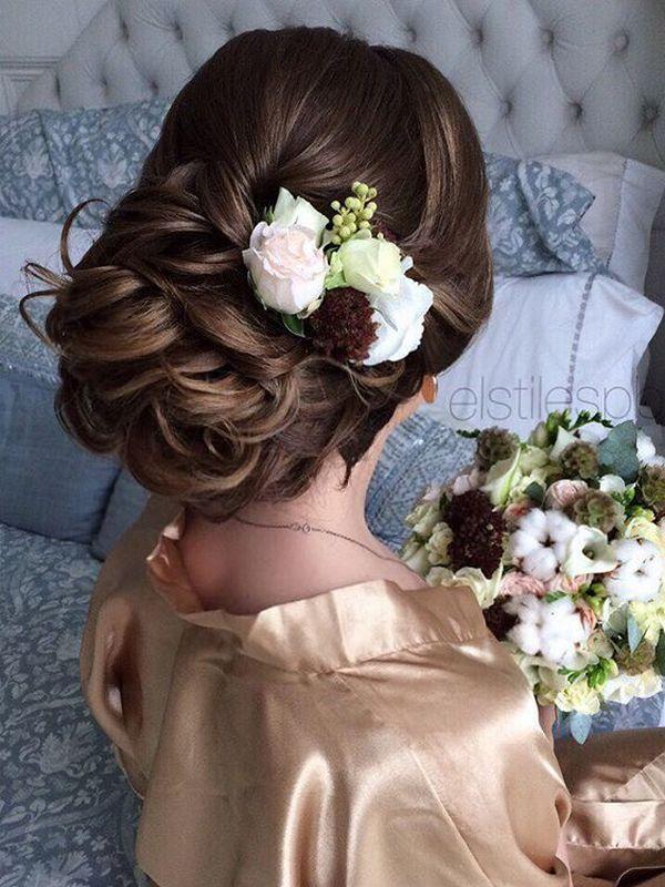Hochzeit - 75 Chic Wedding Hair Updos For Elegant Brides