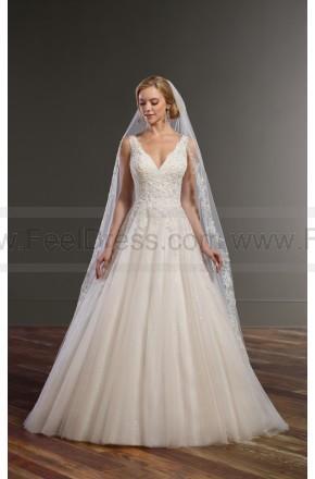 Wedding - Martina Liana Ball Gown Wedding Dress With Keyhole Back Style 834