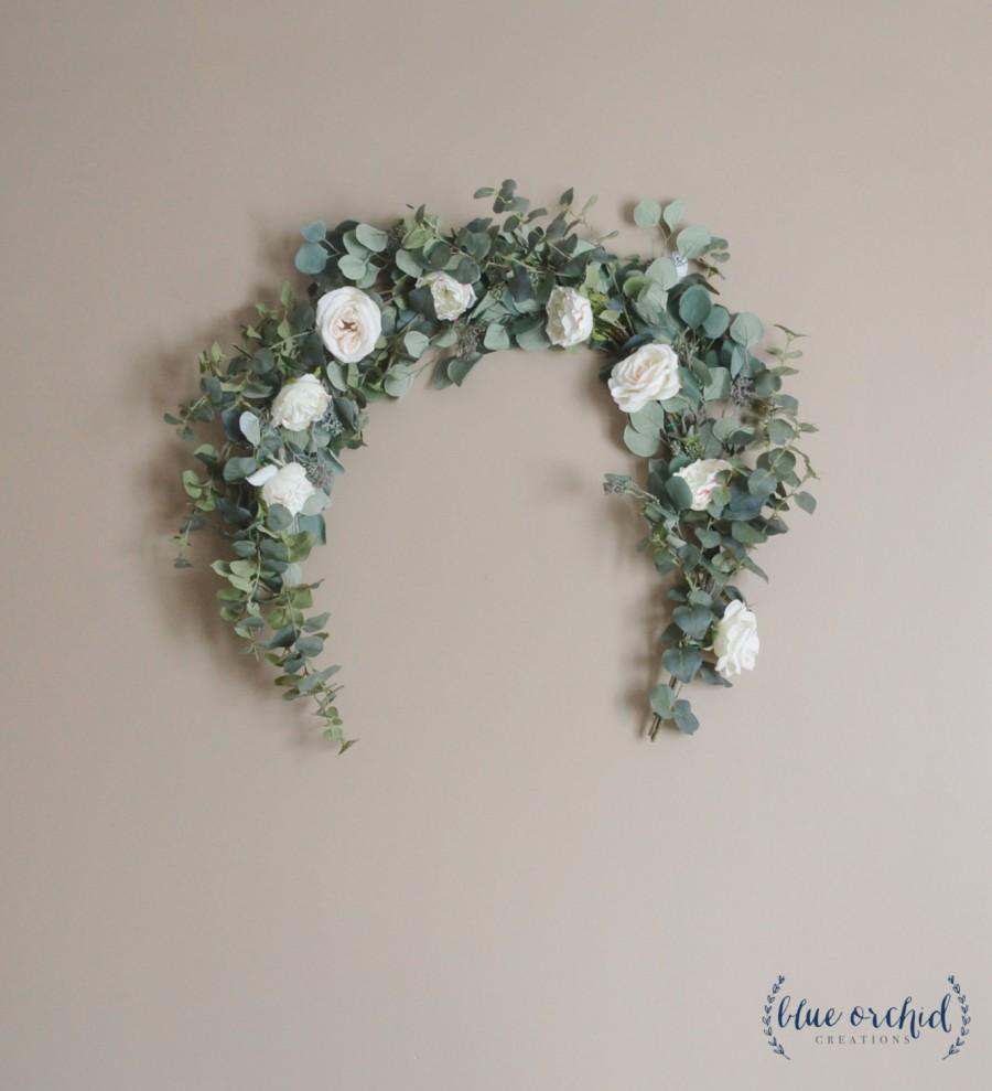 Eucalyptus Garland Wedding Backdrop