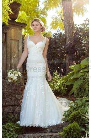 Hochzeit - Essense of Australia Vintage Boho Wedding Dress With Pearl Beading Style D2208