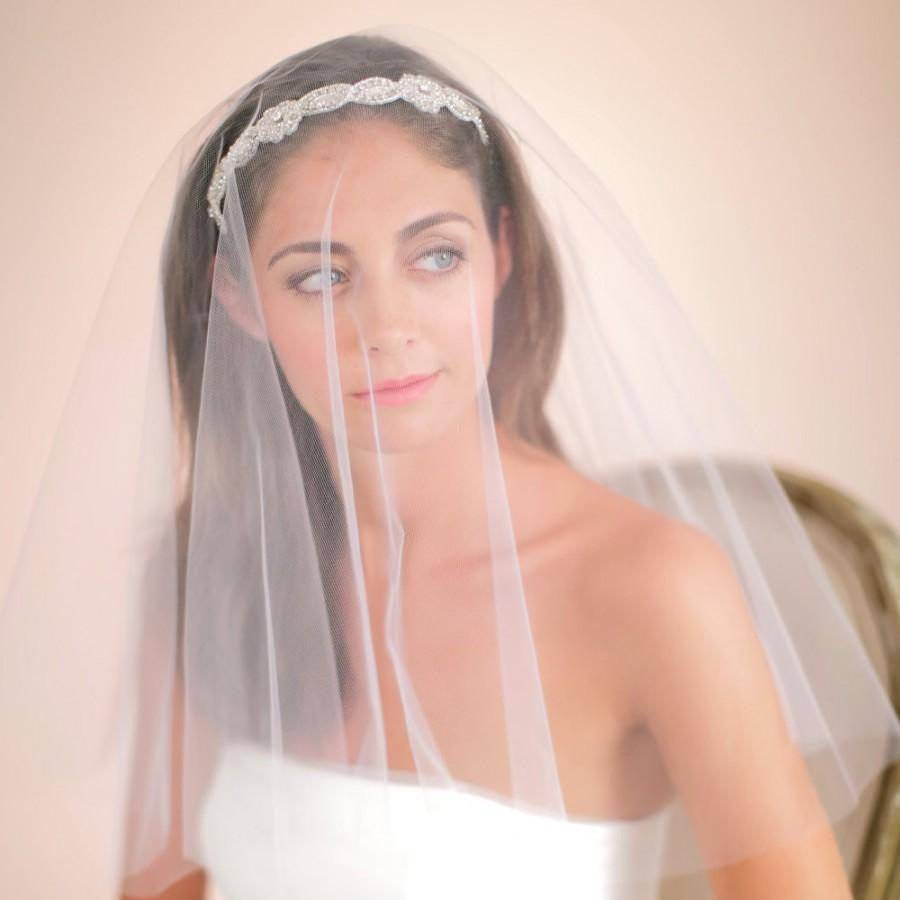 Свадьба - Blusher Veil, Drop Veil, Fingertip Veil, Waltz Veil, Chapel Veil, Cathedral Veil, Design Your Own Veil, Style No. 4127