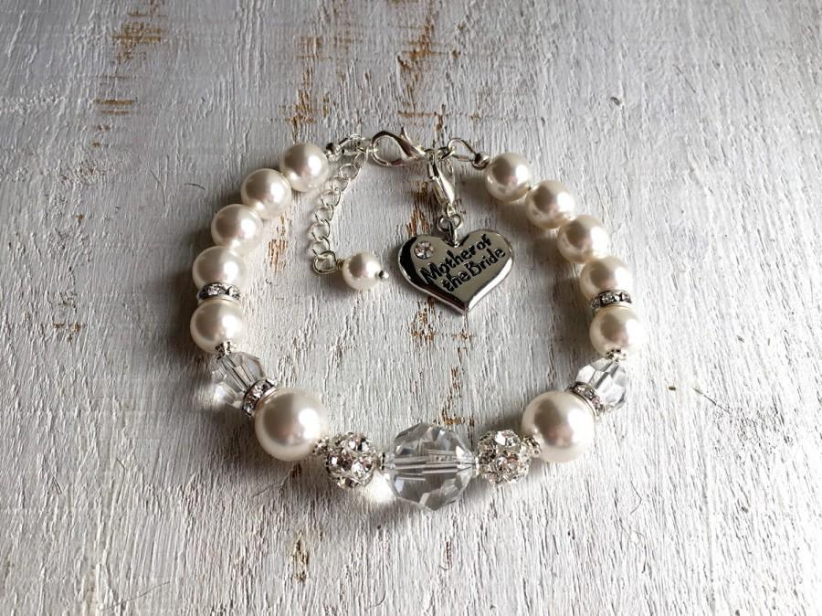 Mother Of The Bride Bracelet Wedding Gift For From Groom Mom In Law