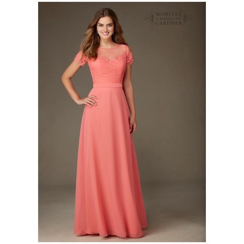 Mori Lee By Madeline Gardner Bridesmaids 124 Bridesmaid Dress - The ...