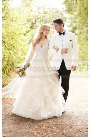 Mariage - Martina Liana Princess Cut Wedding Dress With Layered Tulle Skirt Style 885