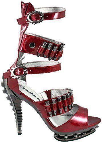 Wedding - HADES SCHUHE Burgund Einschusssteampunk Heels: Amazon.de: Schuhe & Handtaschen