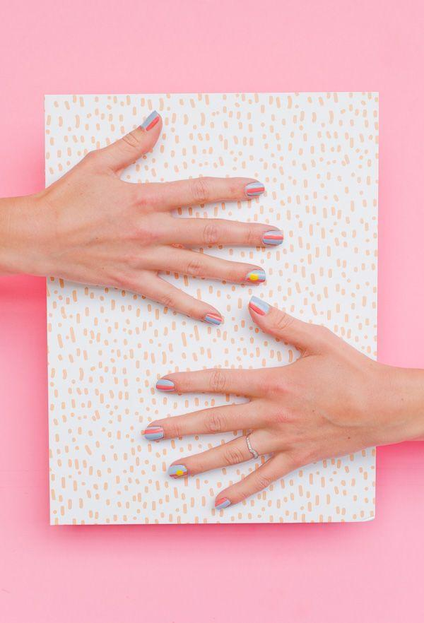 Wedding - Nailed It: A Sunny Summer Nail Art Tutorial
