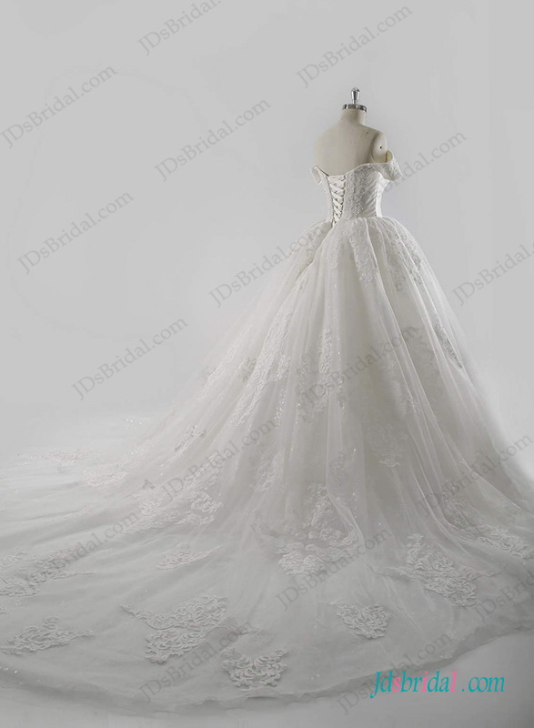 Mariage - Royal stylish cinderella wedding princess ball gown dress