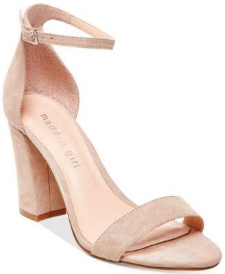 Wedding - Madden Girl Bella Two-Piece Block Heel Sandals