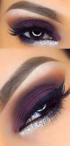 Wedding - Dark Plum Eyes