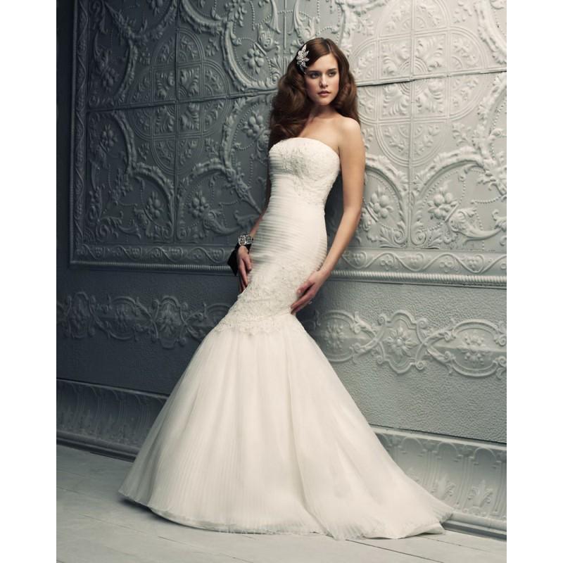 Wedding - Paloma Blanca 4216 Bridal Gown (2012) (PB12_4216BG) - Crazy Sale Formal Dresses