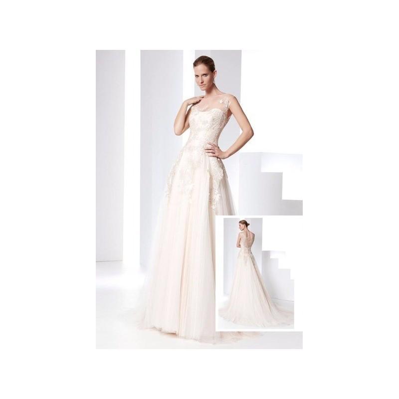 61dab2150 Vestido de novia de Raimon Bundó Modelo Pasión - 2016 Evasé Otros Vestido -  Tienda nupcial con estilo del cordón