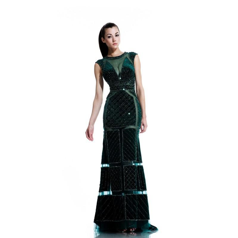 Hochzeit - Hunter Johnathan Kayne 555 - Cut-outs Dress - Customize Your Prom Dress