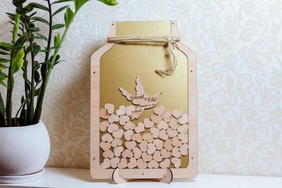 Wedding Guest Book Drop Box Mason Jar Memory Ideas Unique Alternative Top