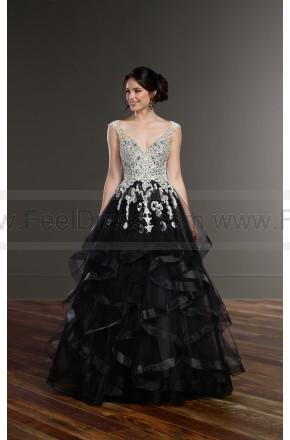Mariage - Martina Liana Black Princess Wedding Dress Style 885 Black