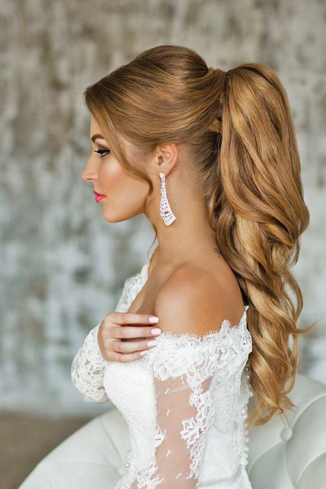 18 Party Perfect Pony Tail Hairstyles For Your Big Day #2643499 - Weddbook