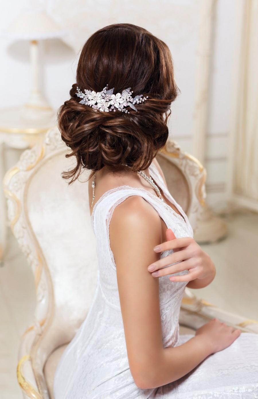 Wedding - Bridal hair comb Wedding hair comb Bridal headpiece Bridal hair accessories Wedding headpiece Bridal hairpiece Bridal comb Wedding comb