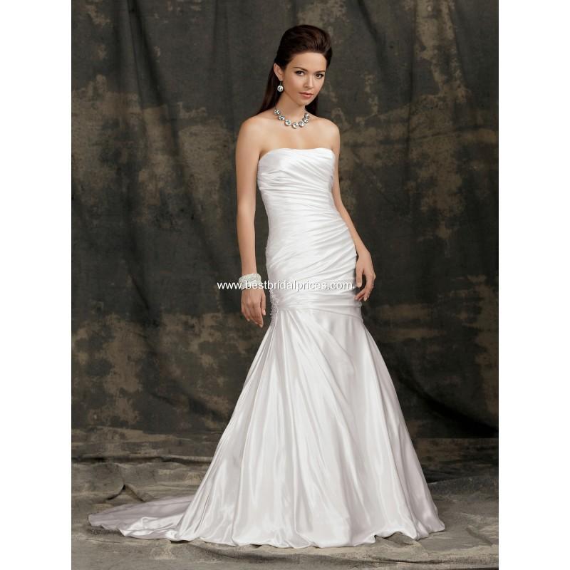 Wedding - Jordan Reflections Wedding Dresses - Style M982 - Formal Day Dresses
