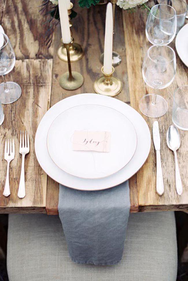 Wedding - Organic Wedding Inspiration At An Erich McVey Workshop