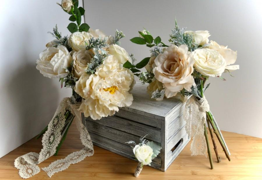 Wedding - Dusty Miller Bouquet