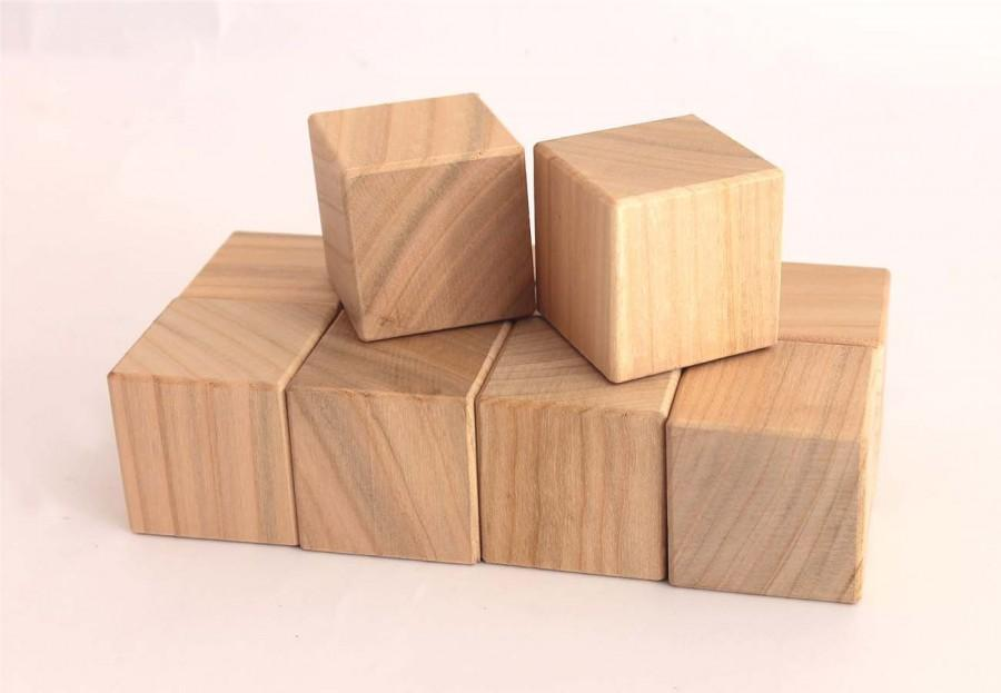 Wedding - Toy wooden blocks set of 10 pcsBaby wood blocks,unfinished wood blank,wooden block,unfinished wood,wood blocks for painting eco wood