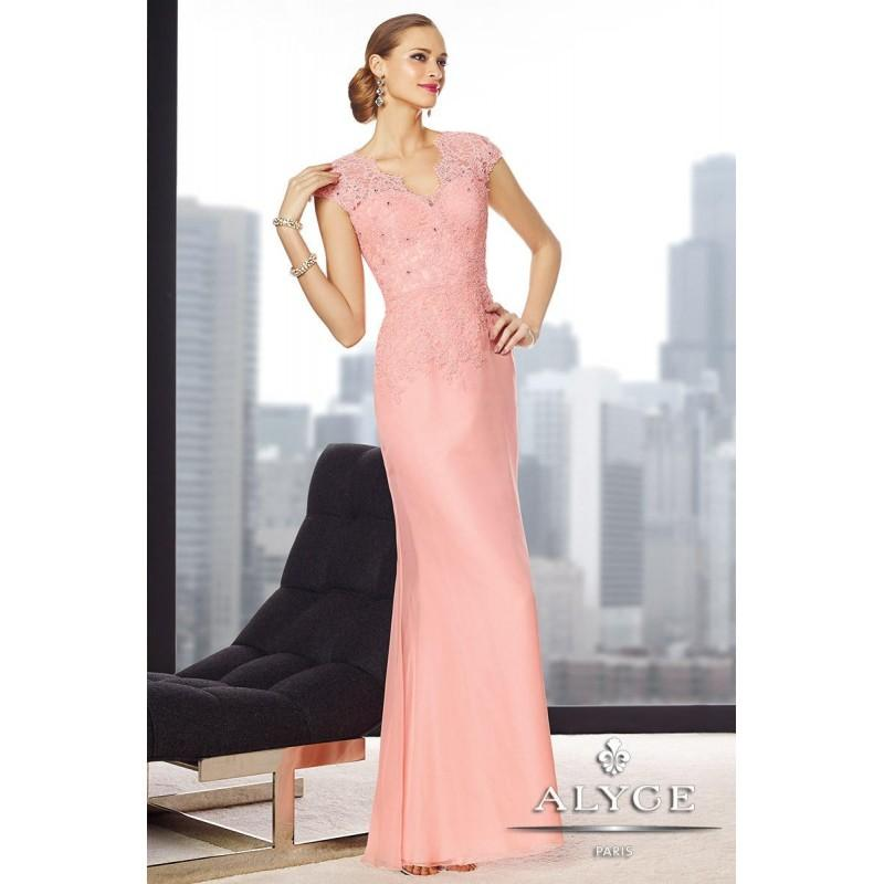 Wedding - Jean De Lys by Alyce Paris 29692 Light Pink,Burgundy,Sand Dress - The Unique Prom Store