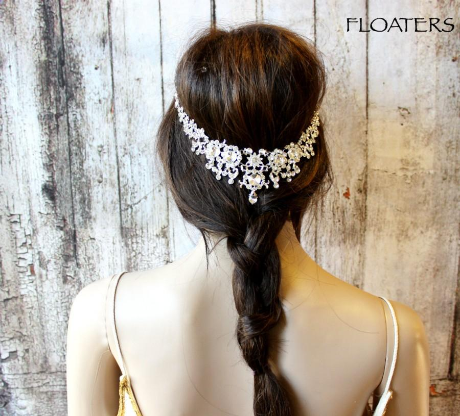 Wedding - Bridal Hair Jewelry, Wedding Headpiece, Bridal Hair Accessory