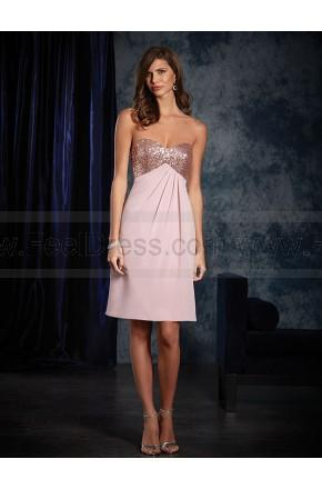 Hochzeit - Alfred Angelo Bridesmaid Dress Style 8119S New!