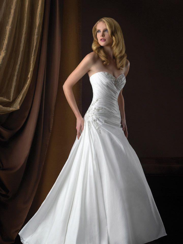 Wedding - Allure Bridals Romance 2358 Taffeta Wedding Dress