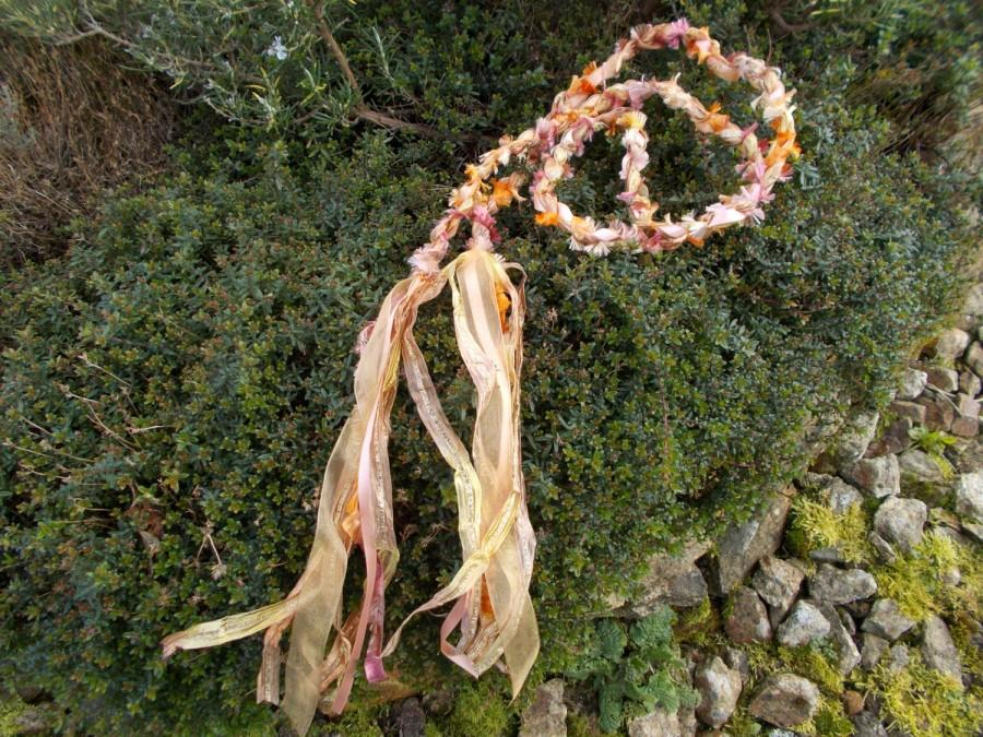 Mariage - Handfasting Cord, Hand Fasting Cord,Celtic Wedding,Pagan Wedding,Mid Summer Wedding,Fairy Wedding,SunriseSunset,Boho Wedding,Country Wedding