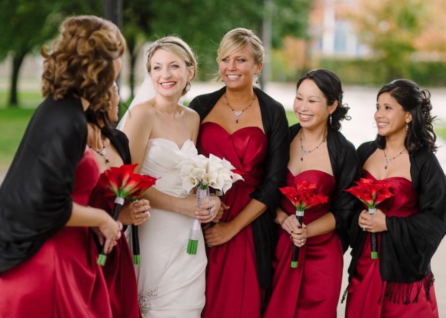 Nozze - Calla Lily Bridal Bouquet, Silk Calla Lily Wedding Flowers, Calla Lily Bridesmaids Bouquets, Calla Lily Bout